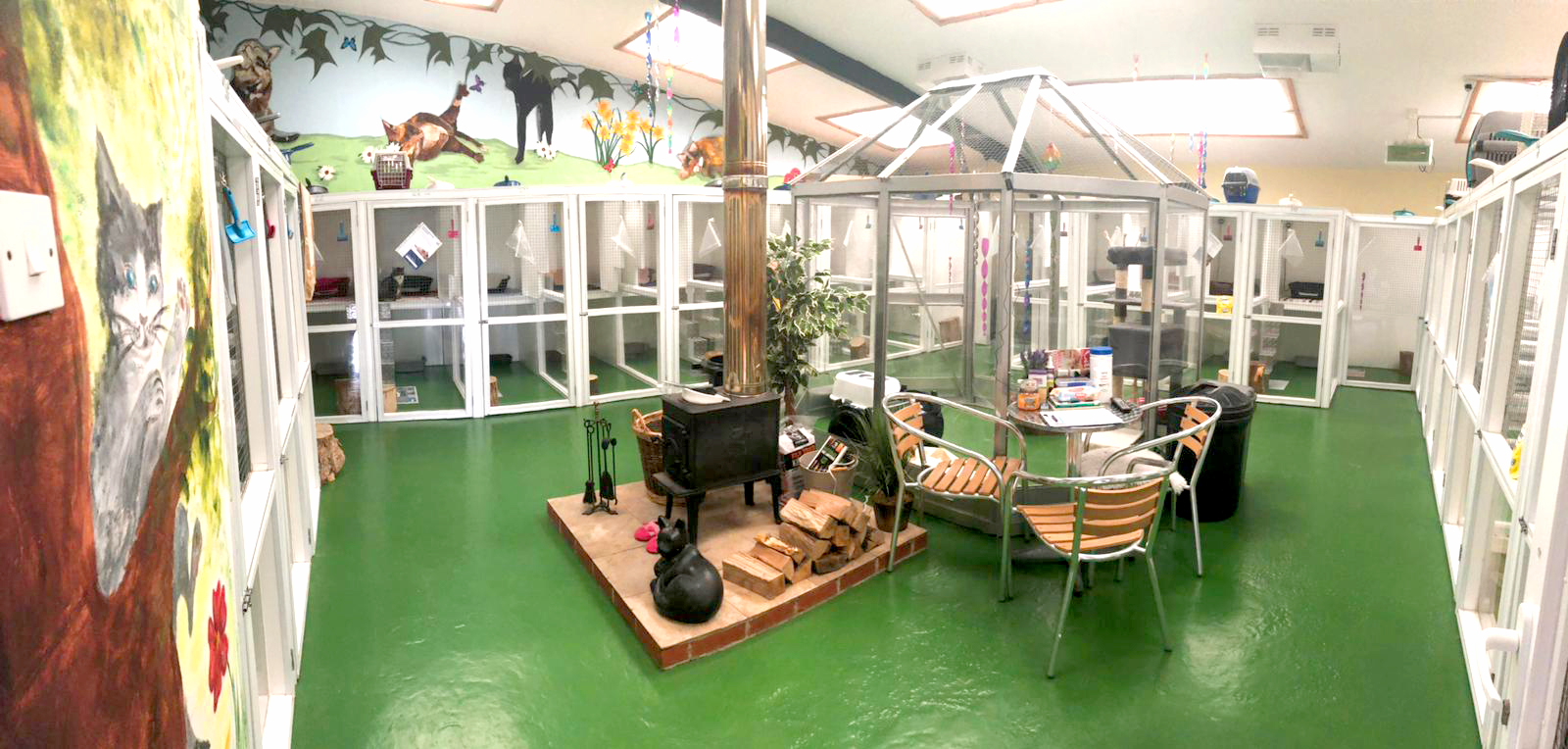 cattery interior